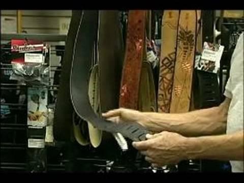 Choosing a Musical Instrument : Choosing a Guitar Strap