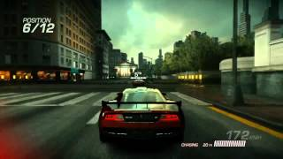 Ridge Racer Unbounded (Xbox 360) -  gameplay