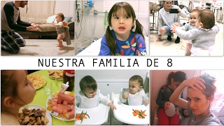 VLOG RECOP 11 MES MELLIZAS / PRIMEROS PASOS Anne + En URGENCIAS Laia + CUMPLEAÑOS Irati / Enero 2017