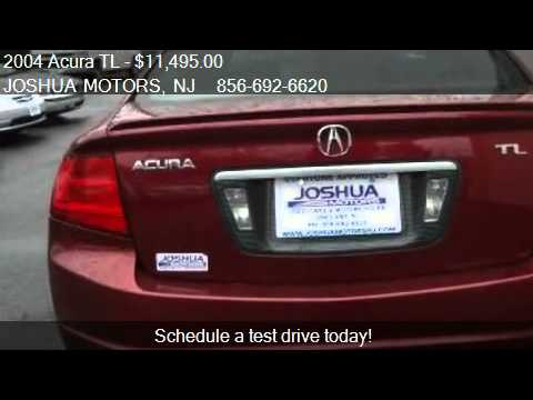 2004 acura tl 6 speed mt with navigation sys for sale in for Joshua motors vineland nj