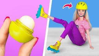Мебель и аксессуары для Барби из старой косметики – 10 идей