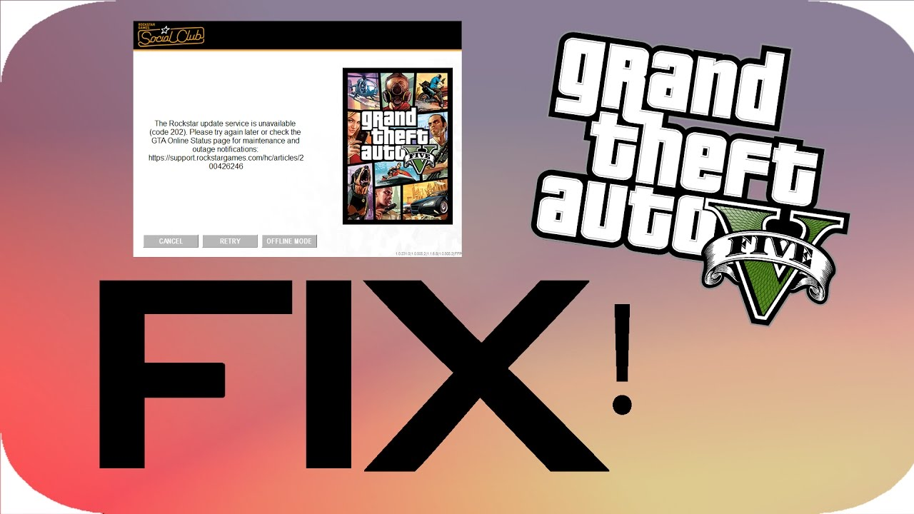 gta online game services unavailable