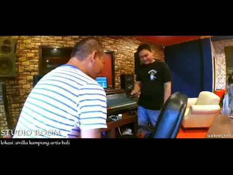 Studio musik di villa kampung artis bali
