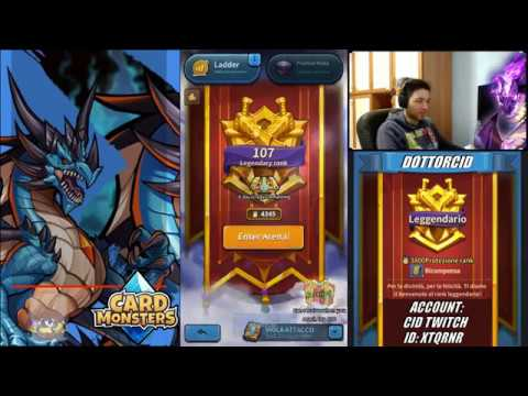 CARD MONSTERS - PARTITE ARENA ONLINE  - 2019 04 23