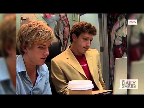 Check out raw footage back when Facebook first started and Mark Zuckerberg was 19 just years old