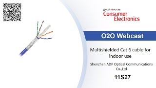 Multishielded Cat 6 cable for indoor use – Consumer Electronics show