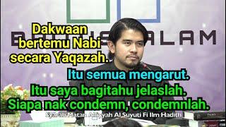 Jumpa Nabi Secara Mimpi & Yaqazah   Dr. Kamilin Jamilin