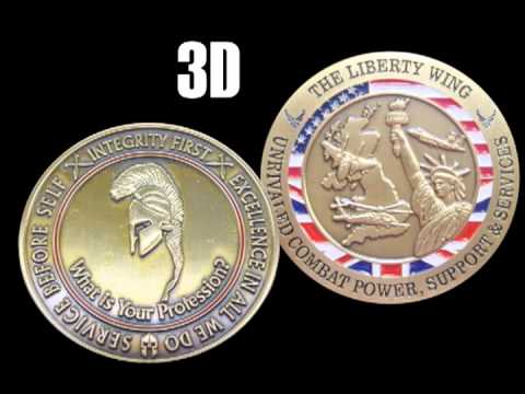 Challenge Coin Examples - Styles and Options for every coin