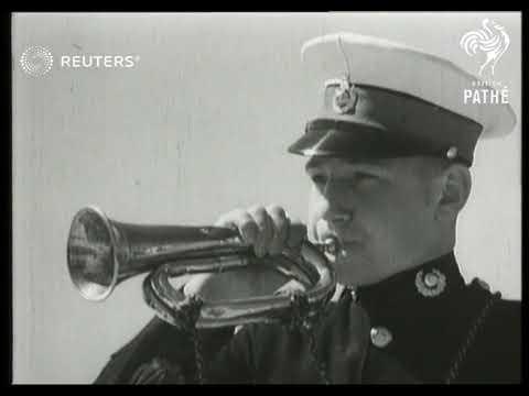 Battle practice aboard Royal Navy ships (1939)
