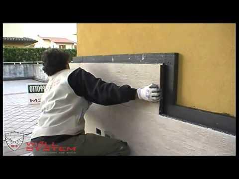 Posa Installazione Cappotto termico fai da te Corazzato - YouTube