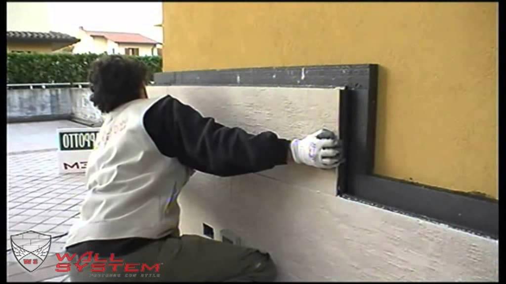 Posa installazione cappotto termico fai da te corazzato for Pitturare esterno casa fai da te