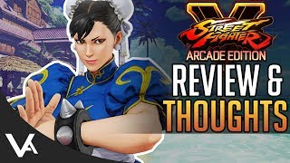 SFV - Arcade Edition Review & Thoughts! New Content & Fight Money Grind For Street Fighter 5