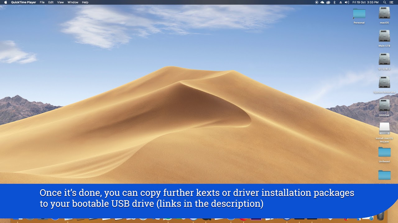 How to make a bootable macOS Mojave USB disk with Clover bootloader