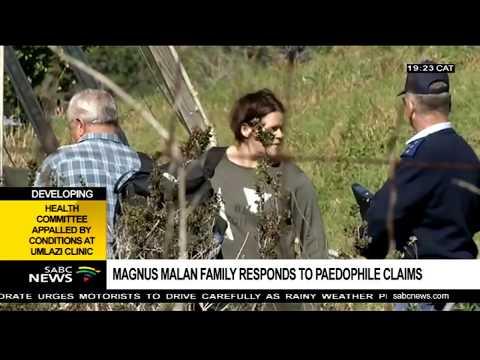 Magnus Malan family disputes paedophile claims