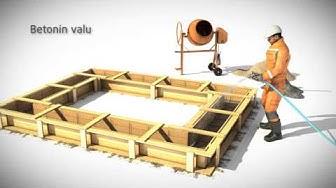 Plussementti - Betonin valmistus säkkisementistä