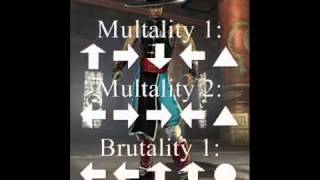Mortal Kombat Shaolin Monks-fatality ps2 game-