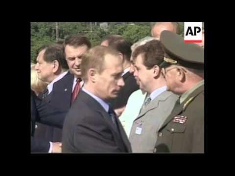 CUBA: RUSSIA PRESIDENT PUTIN VISIT