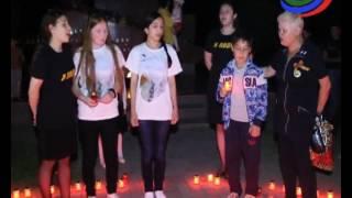 Избербаш присоединился ко всероссийской акции «свеча памяти»
