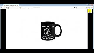 You Matter Funny Science Physics Coffee Mug