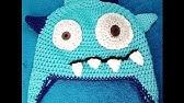 49db406fa77 Ellis monster hat crochet pattern for lefties Schachenmayr Baby ...