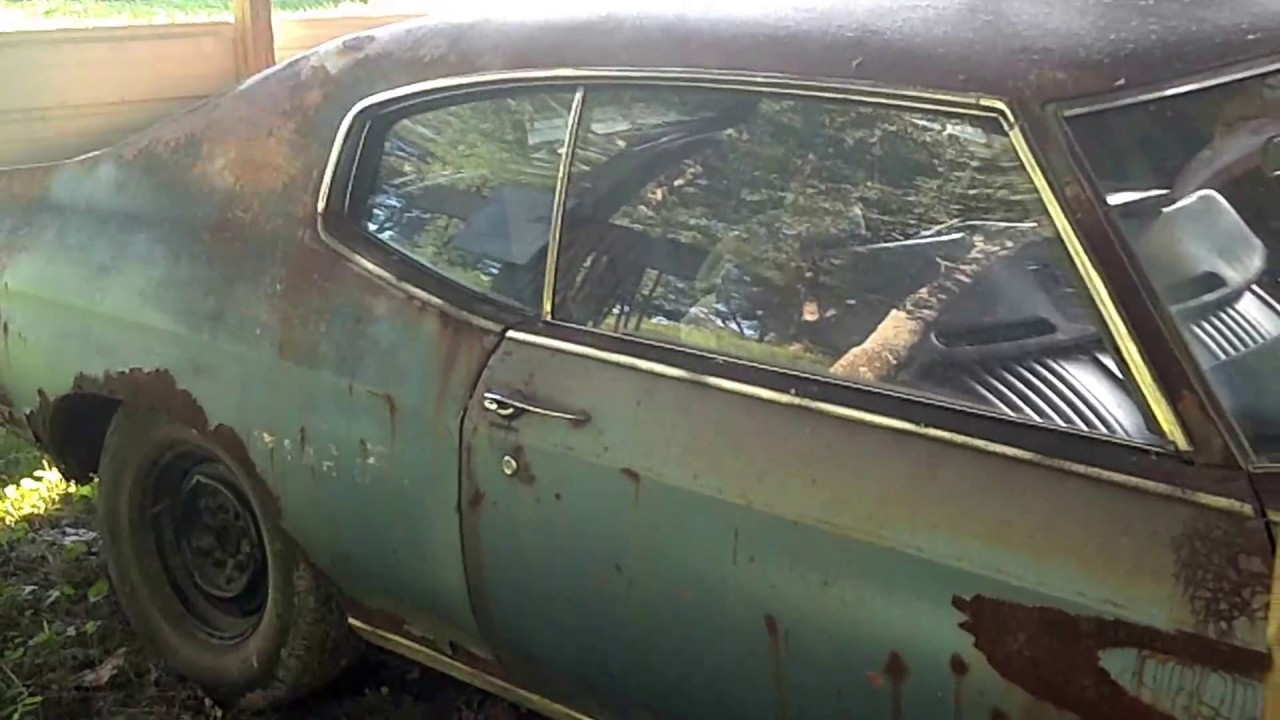1970 Chevelle Project Car Youtube
