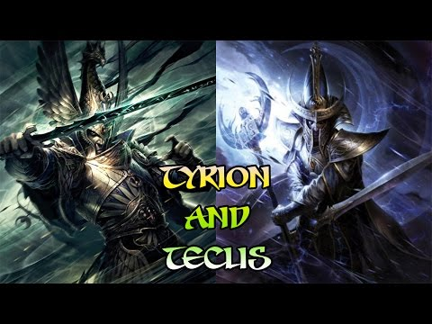 Warhammer Total War 2 Lore, Tyrion and Teclis Legendary lords of Ulthuan