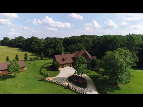 AERIAL Video Of Home For Sale In Athens, Georgia