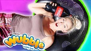 do not fill a wubble bubble up with coke   diy giant coke stress ball bean bag experiment