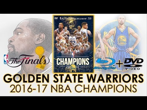 Golden State Warriors 2017 NBA Champions on Blu-ray & DVD | The Finals | Stephen Curry