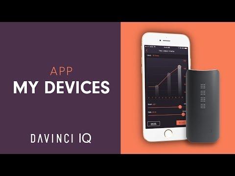 DaVinci IQ App – My Devices Menu