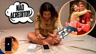 COMPREI UM IPHONE NOVO PARA MINHA IRMÃ!!