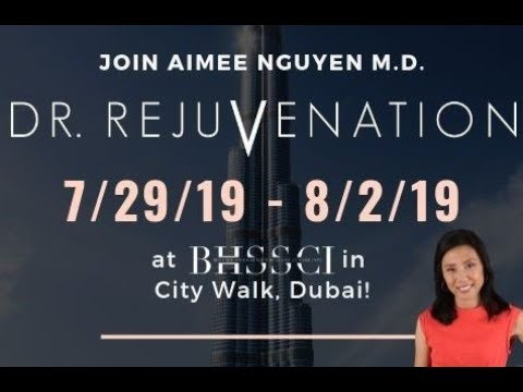 Dr. Rejuvenation Takes On Dubai!