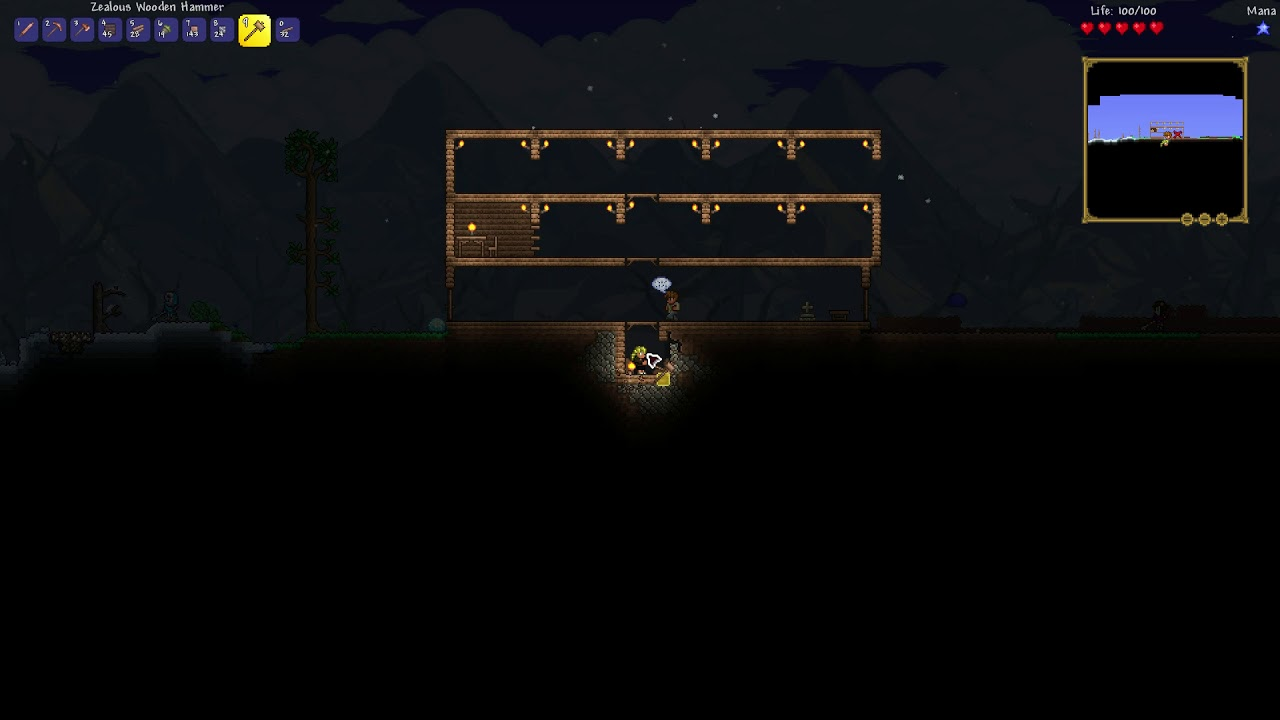 How To Remove Dirt In The Background Terraria You