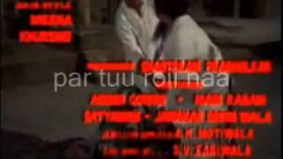 meri duniya hai maa- karaoke & Lyrics-Talash