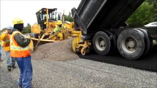 Dumping Shoulder Gravel