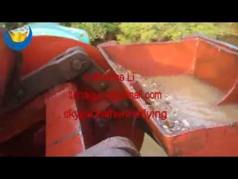 Bucket Type Gold Mining Dredger Machine