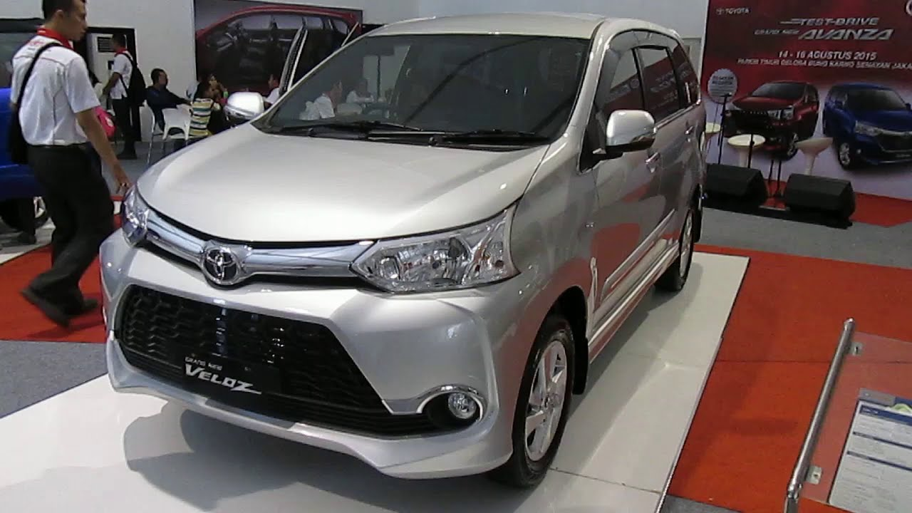 Launching Toyota Grand New Avanza Beda Veloz 1.3 Dan 1.5 First Look 2015 Youtube