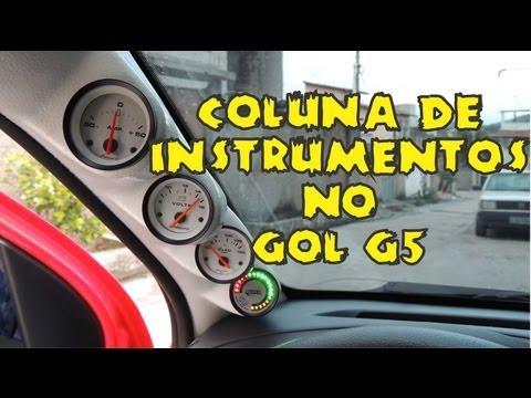 Coluna de Instrumentos Gol G5