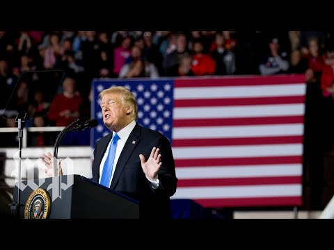 Trump holds rally in Arizona
