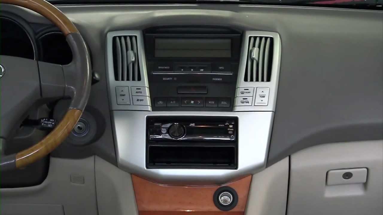 Sound Wiring Schematic Metra Lexus Rx Series 2004 2009 99 8159s Dash Kit Youtube