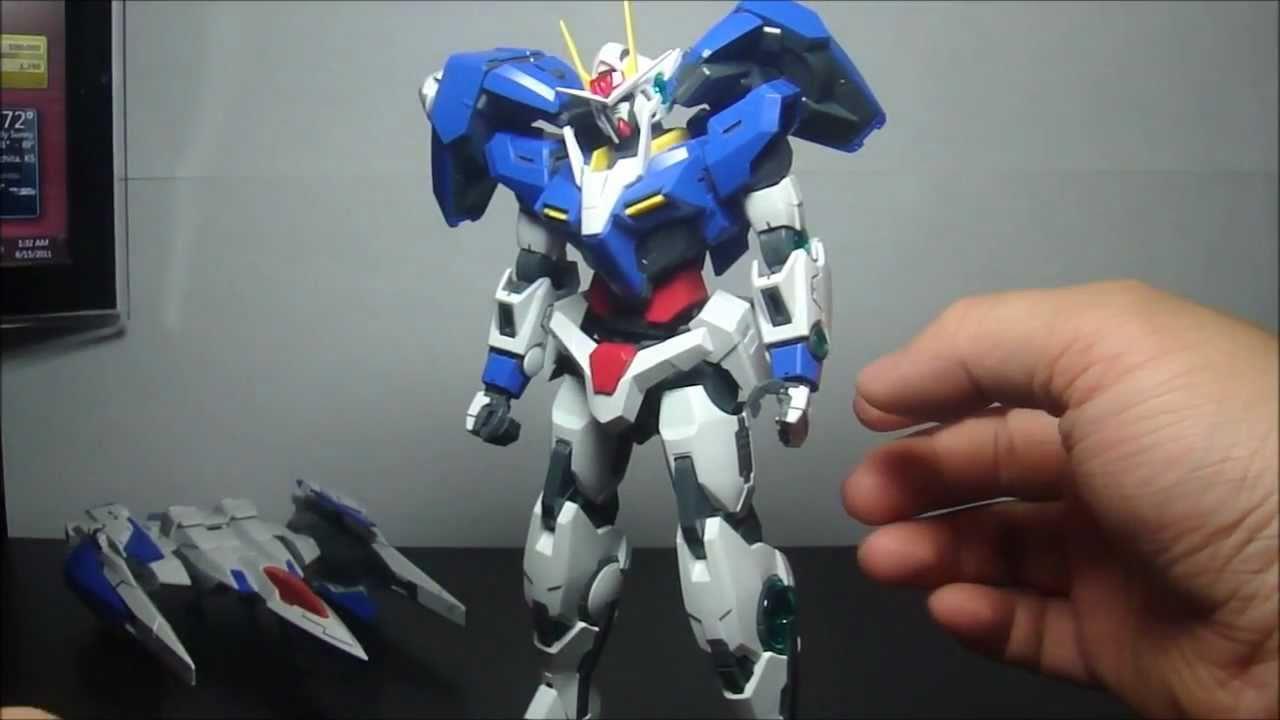 Gnr-010 00 Raiser Gundam Gunpla Mg Master Grade 1//100 BANDAI Gn-0000