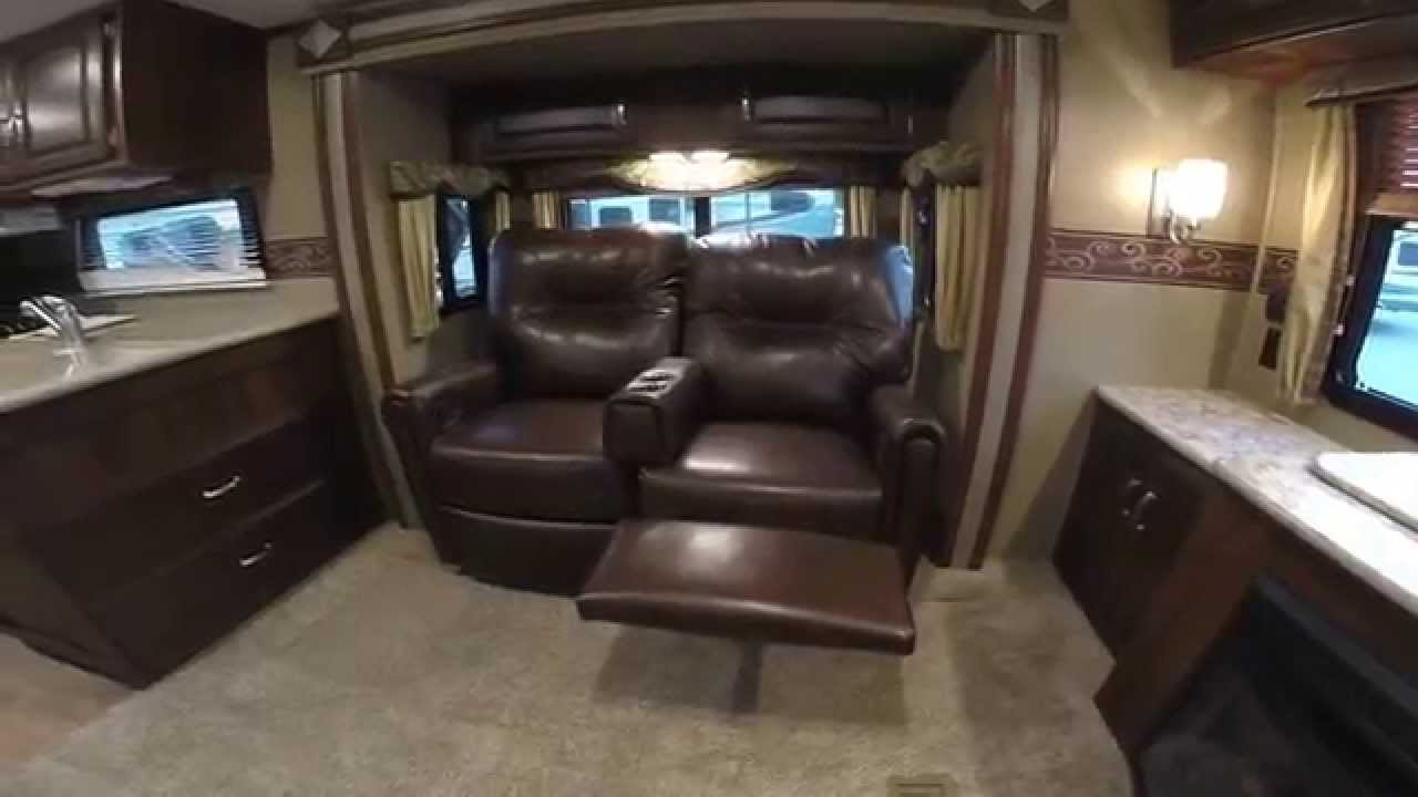 2015 Keystone Outback 298re Rear Entertainment Three Slide Luxury Travel Trailer