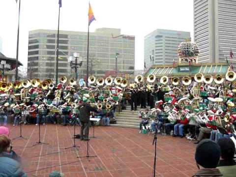 Tuba Christmas 2020 Baltimore Carol Of The Bells, 2008 Merry Tuba Christmas, Baltimore   YouTube