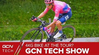 How Much Difference Would A 4.8kg Bike Make At The Tour de France? | GCN Tech Show Ep. 82