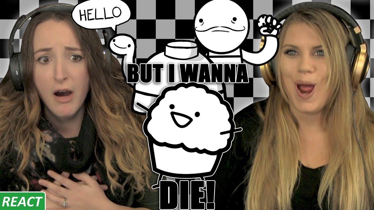 Hello Mine Turtle Girls React Asdf Part 2 Youtube