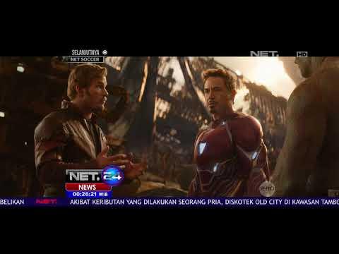 Film Avengers Infinity War Akan Diputar di Indonesia 25 April 2018 - NET 24