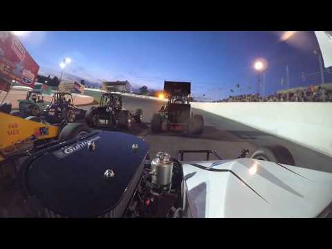 Can Am Midgets @ Sunset Speedway July 8th, 2017 – A Feature