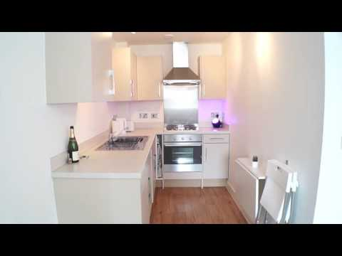My New Modern Studio Flat/ Apartment Tour 355 sq ft (33m2) - Interior Design UK