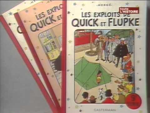 Monsieur Hergé RTBF 1989 - Tintin et milou