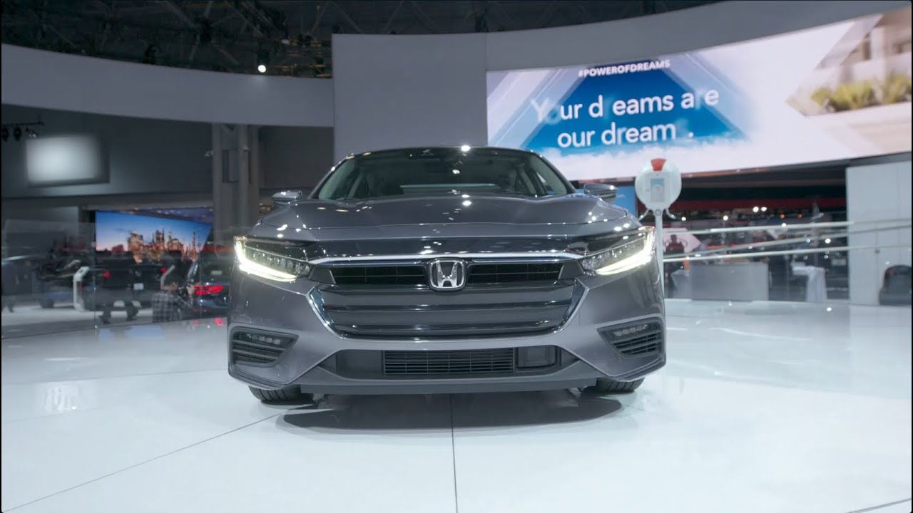 Hybrid Technology Drives The All New 2019 Honda Insight